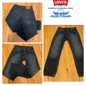 LEVIS 514 SLIM STRAIGHT JEANS MENS 29 x 30.